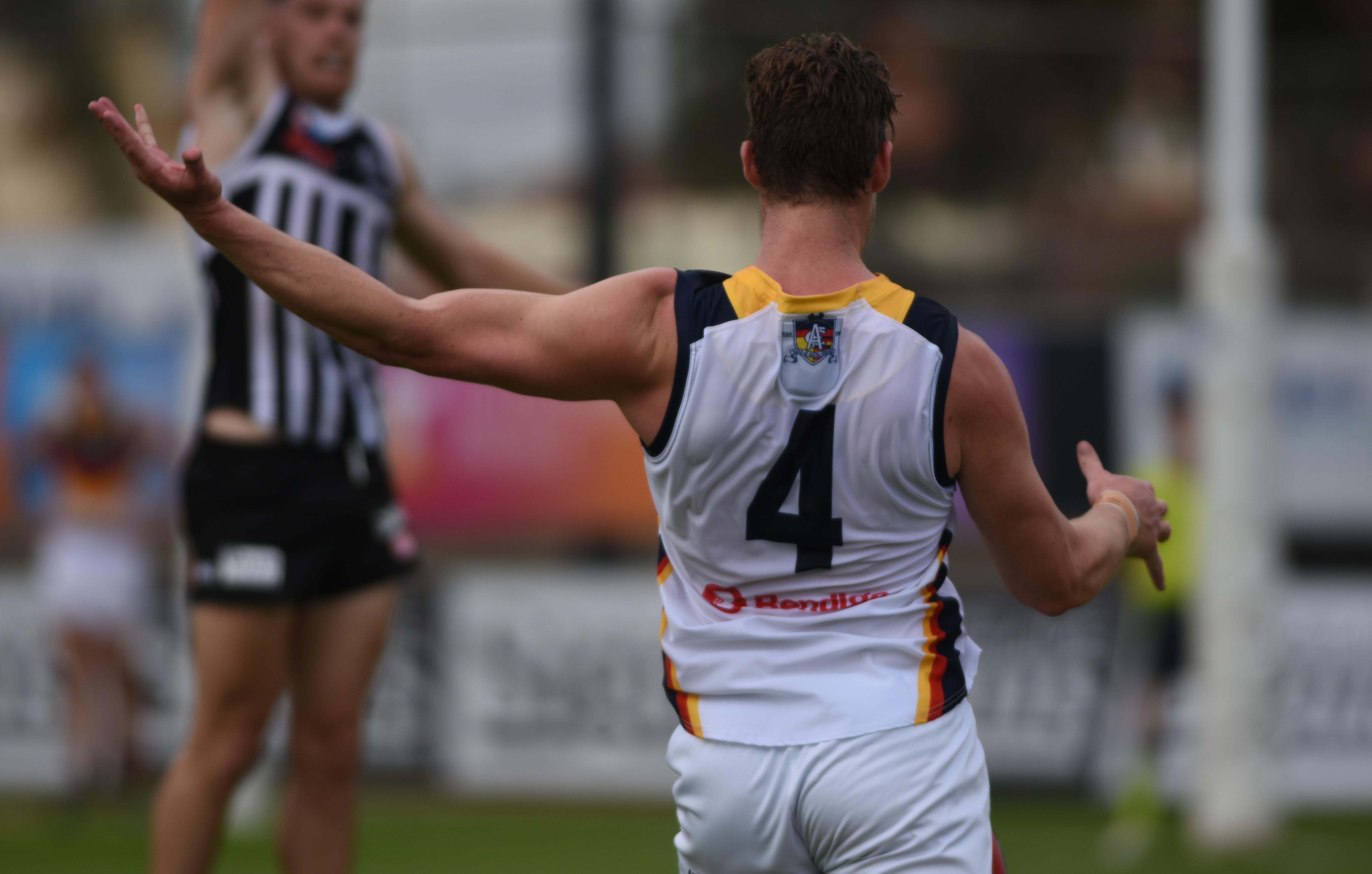 SANFL: Jenkins leads Crows to win