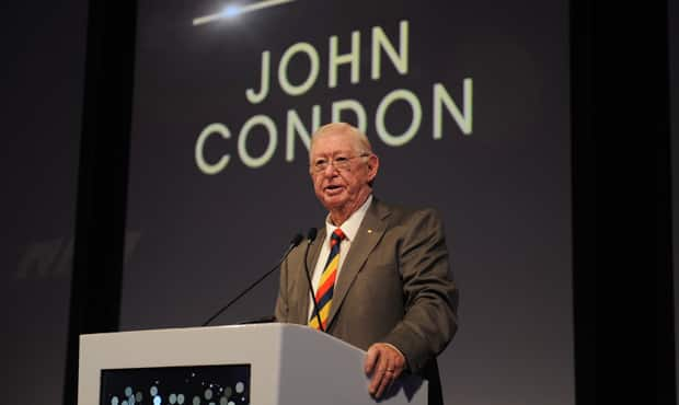 Crows Life Member John Condon has been inducted into the South Australian Football Hall of Fame - Adelaide Crows