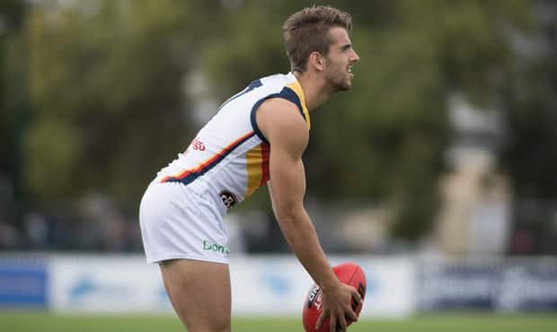 Jordan Gallucci impressed with his pace and class in Saturday's SANFL Showdown