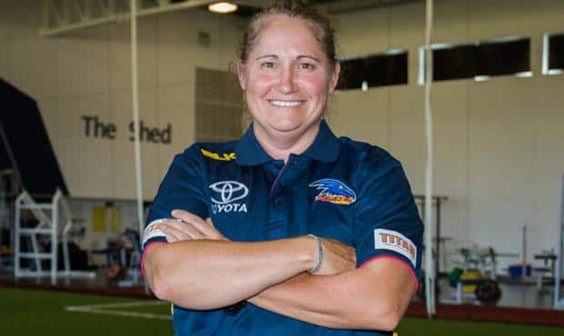 Respected SA football figure Narelle Smith is part of the Club's women's football advisory committee