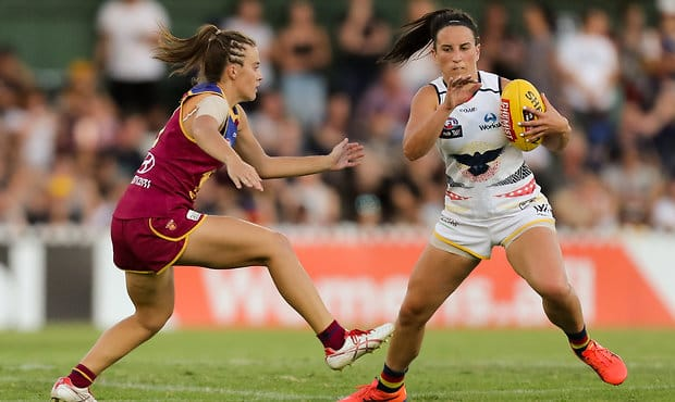 Lions roar over Gabba pitch fail for Women's AFL grand final