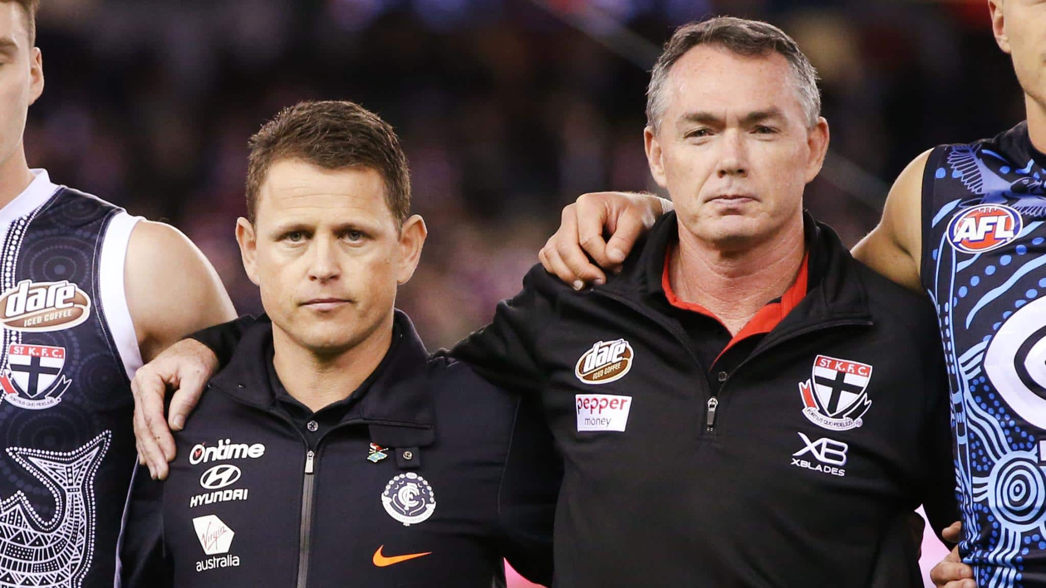 BARRETT: Two more coaches will be feeling the heat
