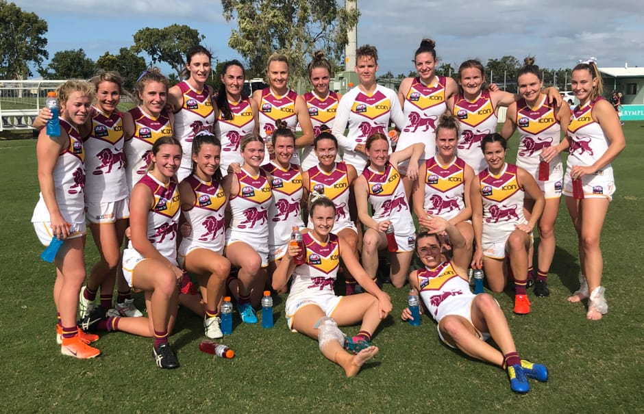 Lions AFLW soaring in QW Winter Series