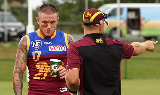 Claye Beams made his return at Frankhauser Reserve. (Photo: Courtesy of David Layden)