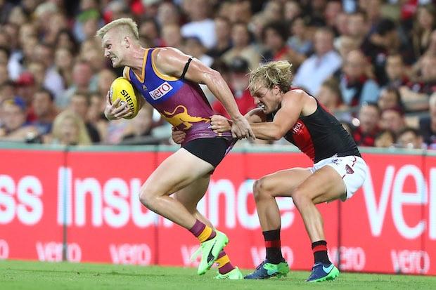 AFL 2017 Round 02 - Brisbane v Essendon