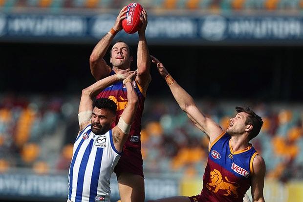 AFL 2017 Round 23 - Brisbane v North Melbourne
