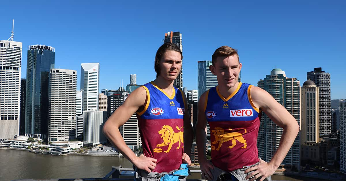 Lions Skyscrapers On Top Of Brisbane Ahead Of Q Clash Lions Com Au