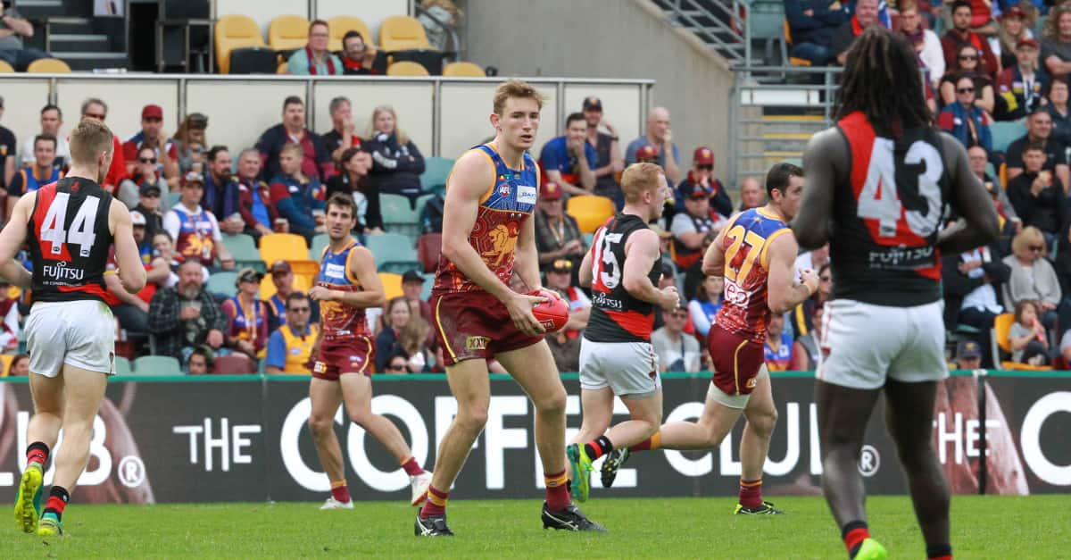 - Brisbane Lions,Harris Andrews,Alex Witherden