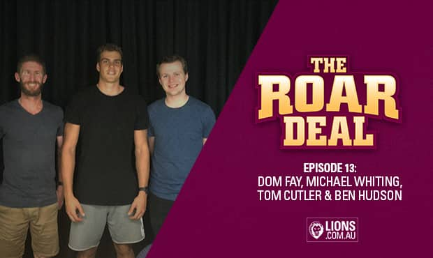 ${customImageCaption} - Brisbane Lions,Ben Hudson,Tom Cutler