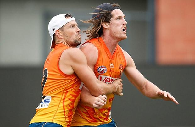 AFL 2017 Training - Lions in Launceston