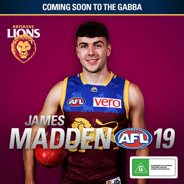 Madden Latest Irish Cross Coder To Sign With AFL Club