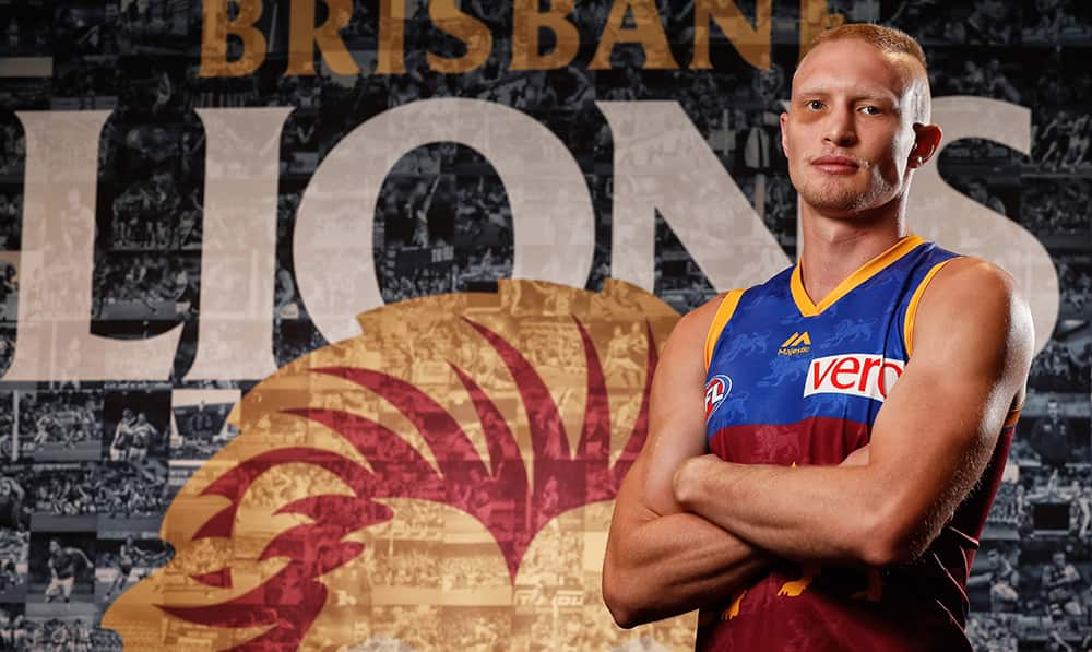 Jack Frost will play his first AFL game as a Lion after serving a one match suspension in the JLT series.