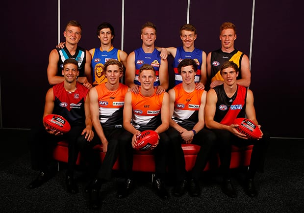 AFL 2012 Media - NAB AFL Draft