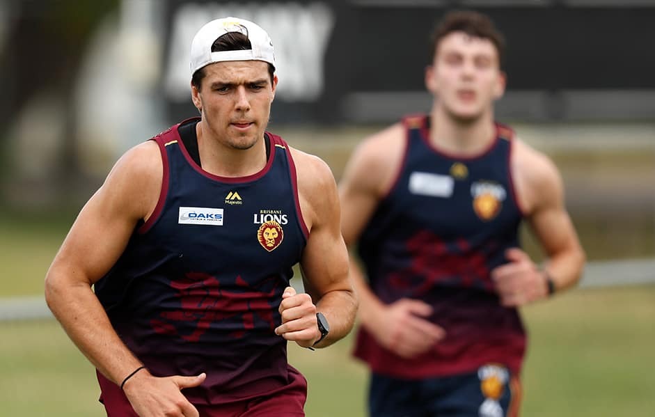Toby Wooller was selected at Draft Pick No. 41 in 2017. - Brisbane Lions,Cameron Rayner,Toby Wooller,Zac Bailey,Brandon Starcevich,Connor Ballenden