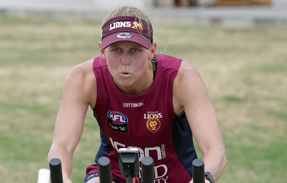 Picture credit: David Layden - Brisbane Lions,Kate Lutkins