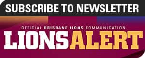 sing up for brisbane lions emails or newsletters
