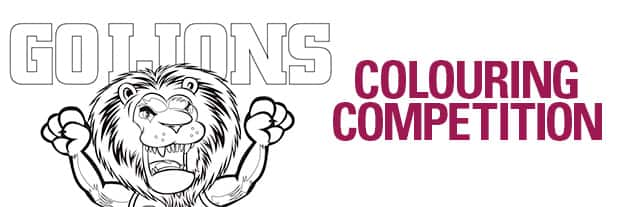Colouring In Competition - lions.com.au