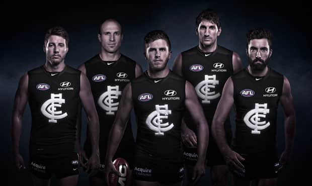 150 years of Carlton in one Nike guernsey