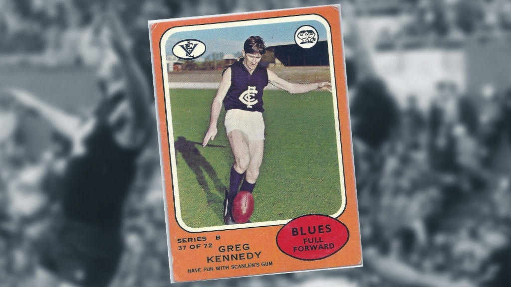 Greg Kennedy sporting the PUMA boots. - Carlton,Carlton Blues,AFL,Ikon Park