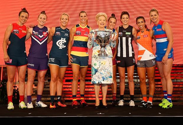 AFL 2017 Media - NAB AFL Womens Competition Launch