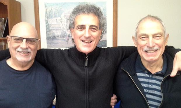 From left to right: Vin Catoggio sen., Vin Catoggio and Dom Catoggio.