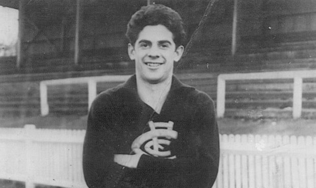 John Chick in his playing days.