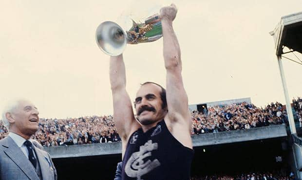 Carlton legend Alex Jesaulenko was named captain of the AFL's Multicultural Team of the Century. (Photo: AFL Media)