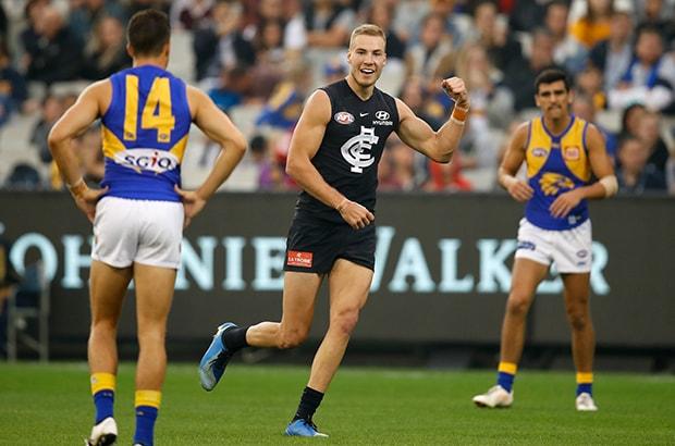 AFL 2018 Round 05 - Carlton v West Coast