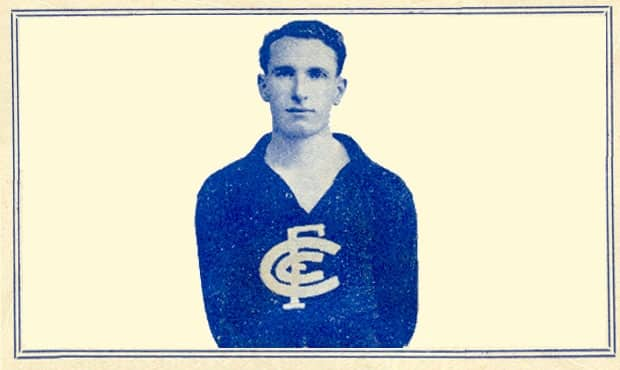 Don McIntyre - Best & Fairest winner in 1937.