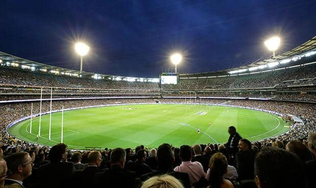 A bumper crowd is expected for the traditional Carlton-Richmond season opener. (Photo: AFL Media)