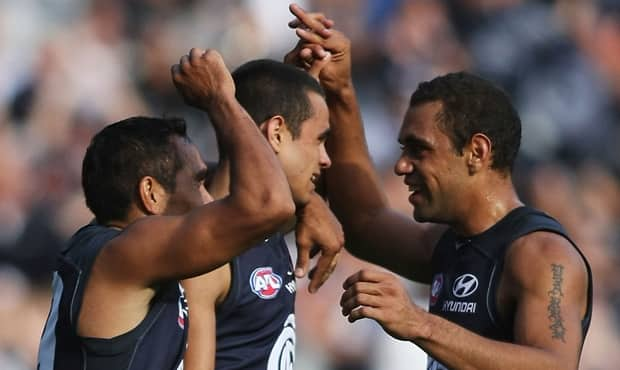 Carlton's forward line will boast Eddie Betts, Chris Yarran and Jeff Garlett in the coming weeks.