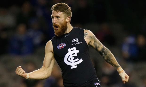 After a career-best 2015 season, Zach Tuohy will be one of the Blues to watch this year. (Photo: Carlton Media)