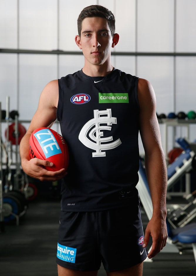 No.1 draft pick Jacob Weitering is set to debut in navy blue in the NAB Challenge - ${keywords}
