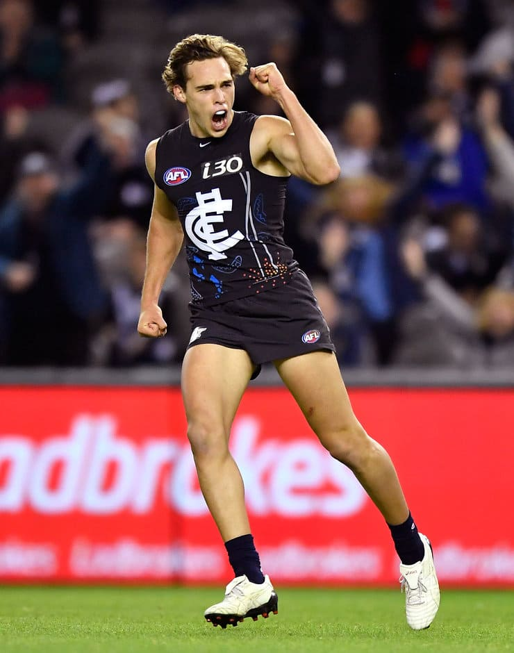 David Cuningham has extended his contract with Carlton - AFL,Carlton,David Cuningham