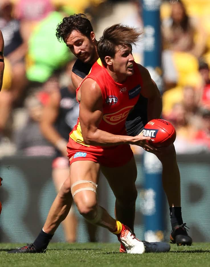 Gold Coast's David Swallow finally reaches the 100-game milestone this weekend - AFL,Gold Coast Suns,Fremantle Dockers