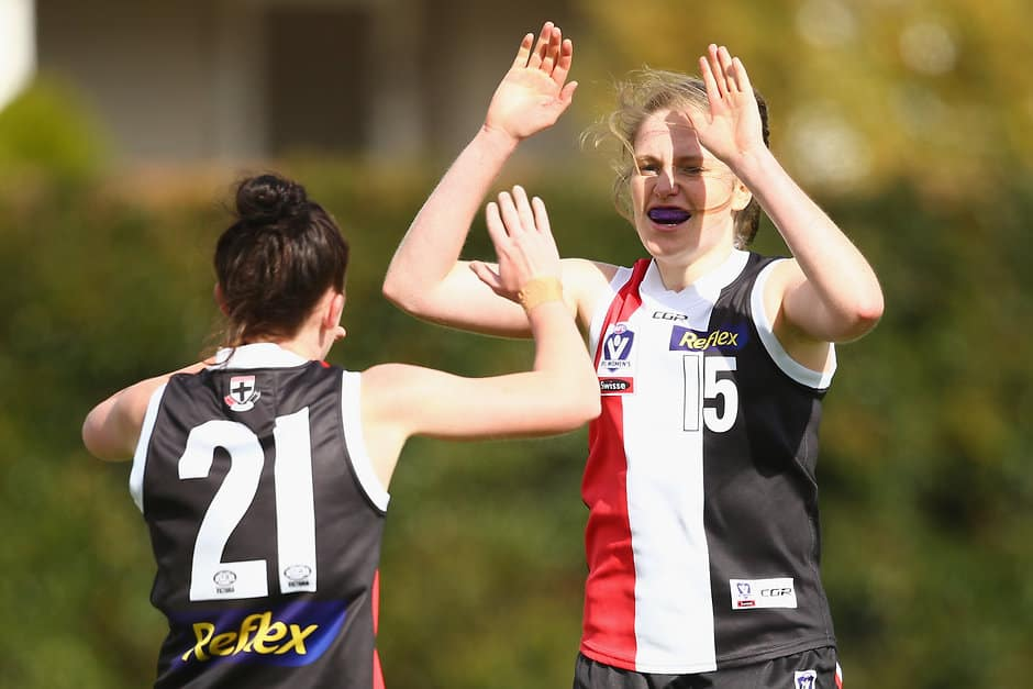 The Southern Saints have defeated Casey Demons in a thriller at Casey Fields on Sunday afternoon. - AFLW