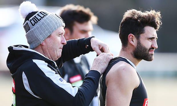 Alex Fasolo has been working hard to build his fitness base - Collingwood Magpies,Collingwood