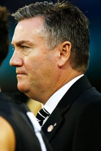 Collingwood President Eddie McGuire has apologised to Adam Goodes after an alleged racial slur involving a Collingwood supporter during the final quarter of Friday night's match.