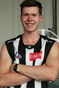 With selection No. 65, Collingwood chose Sandringham Dragon Tom Langdon.