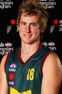 Jeremy Howe poses for a photo ahead of the 2009 National Under 18 Championships.