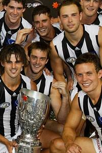 Members of Collingwood's 2011 NAB Cup premiership team would be awarded an automatic position in the AFL finals, according to Eddie McGuire's radical fixture idea.