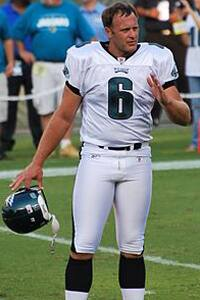 Sav Rocca during his four-year stint with the Philadelphia Eagles. Photo: Keith Lovett (Wikipedia)