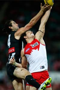 Collingwood and Sydney have met just once at the SCG in the past 15 years.