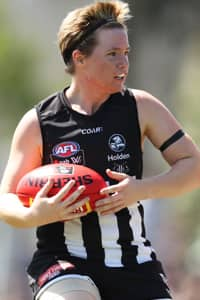 Jess Cameron has been one of Collingwood's leading lights in the first season of the AFLW competition.