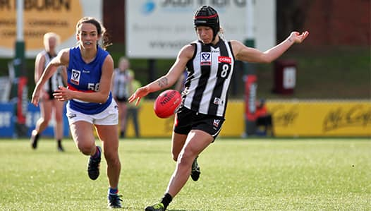 Collingwood has suffered its first finals loss, going down to the Western Bulldgos by 12-points in Port Melbourne. - Collingwood Magpies,Tag-Match Report