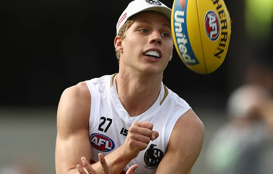 Will Kelly has been training strongly in recent weeks - Collingwood Magpies,Will Kelly