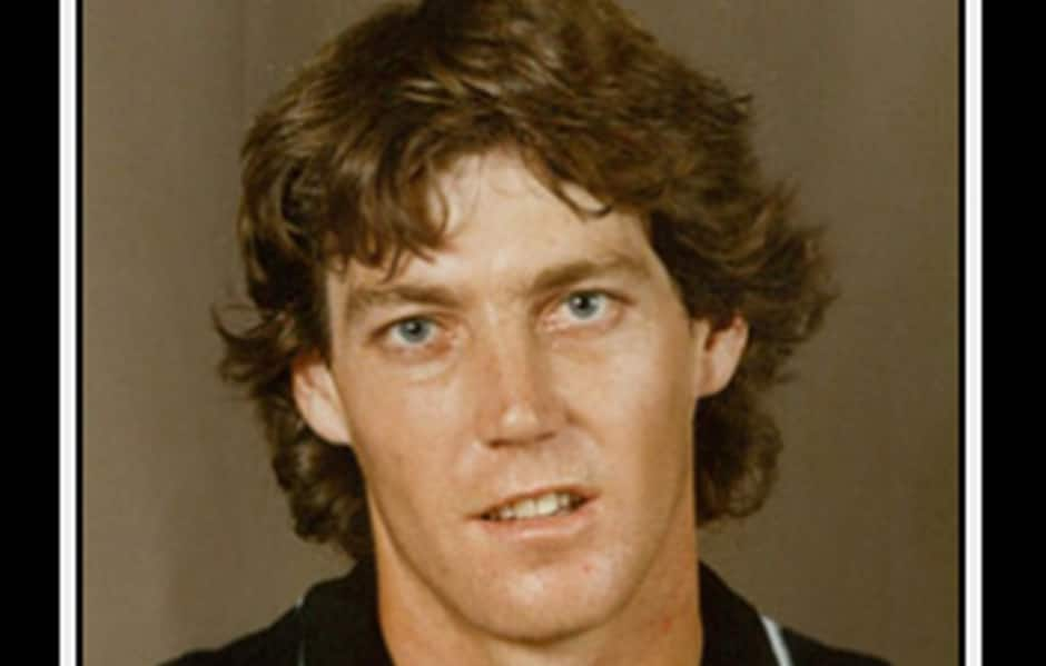 Derek Shaw during his playing days with Collingwood - Collingwood Magpies