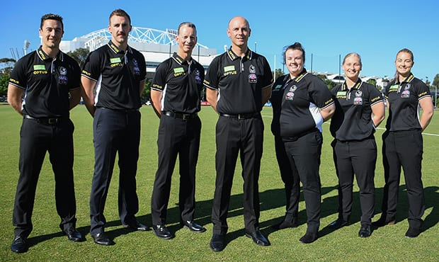 Collingwood's 2019 AFLW coaching panel - Collingwood Magpies,AFLW