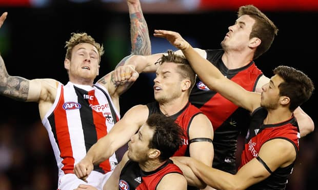 Essendon's young defenders are getting better a they learn to work together.