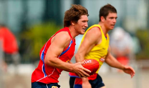 Ben Duscher will line up for Essendon's VFL team in 2013.